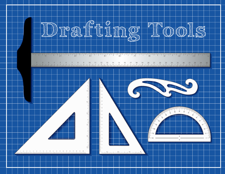 Drafting tools for college students.