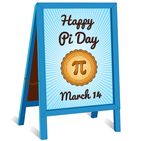 Pi Day, March 14, to celebrate the mathematical constant pi and to eat lots of fresh baked sweet pie