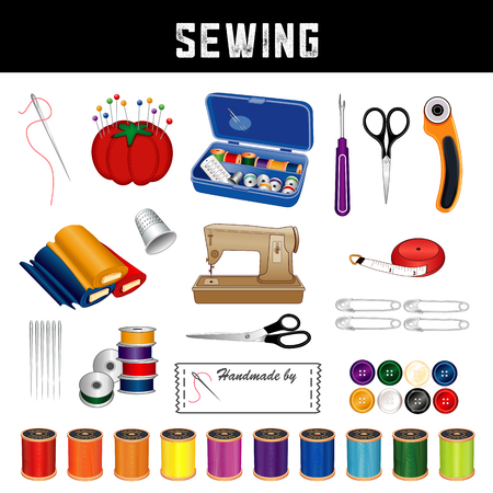 Sewing and tailoring supplies and tools