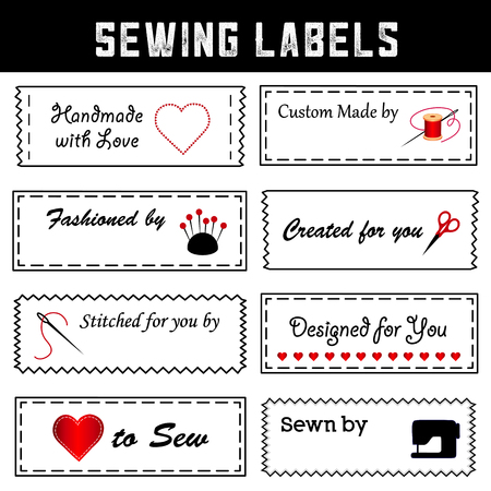 Sewing Labels for do it yourself sewing Imagens - 120220446