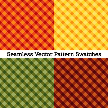 Gingham seamless cross weave