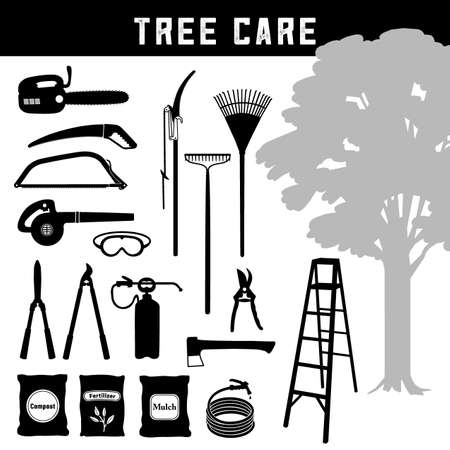Tree Care, Do it Yourself maintenance tools and equipment for trees, orchard, arbor and garden.