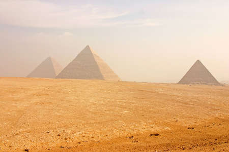 The Great Pyramids of Giza Cairo, Egypt