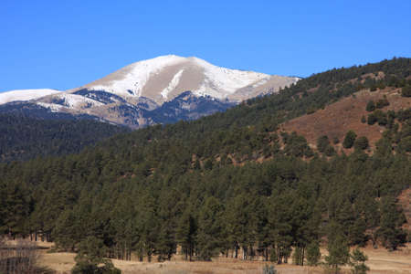 sierra: Sierra Blanca Peak in New Mexico