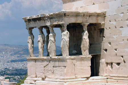 Temple on top of Acropolis