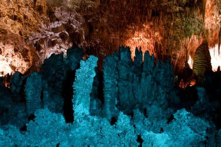 cave exploring: Stalactites & Stalagmites
