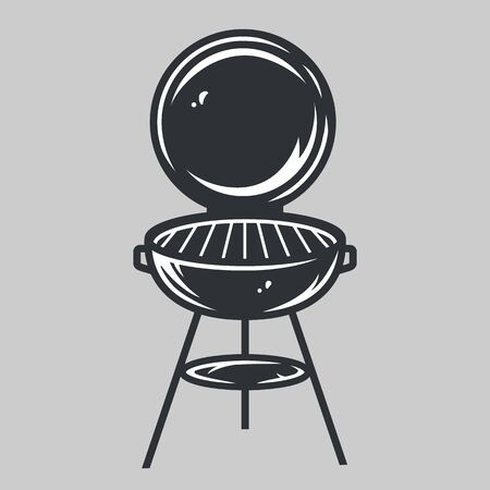 Grill barbeque for picnic, camping and cooking