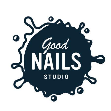 Emblem for nail bar, studio and beauty salon