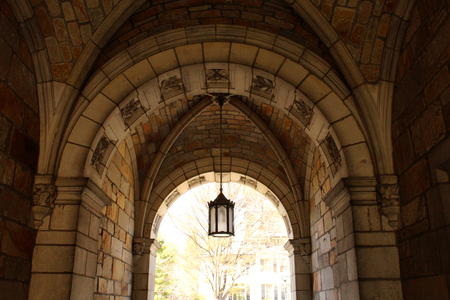 man made structure: Old Stone Archway Stock Photo