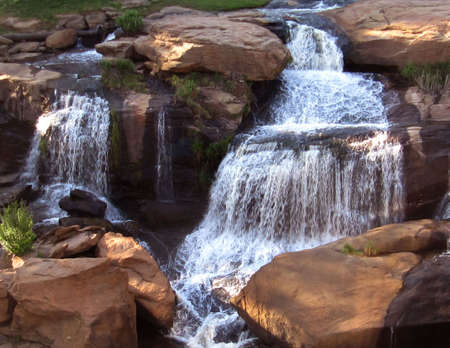 Falls on the Reedy, Greenville, SC photo