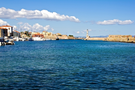 Chania, city in western Crete  Greece  photo