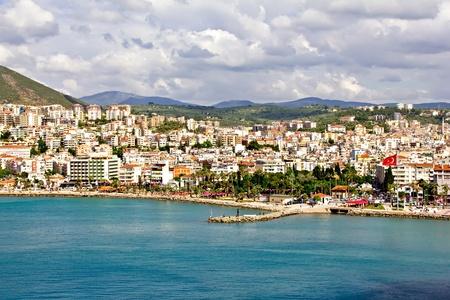Kusadasi - a resort town on Turkey Stock Photo