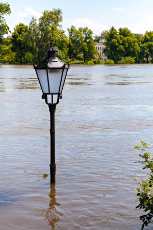 Flooding in Magdeburg, Germany, June 2013 photo