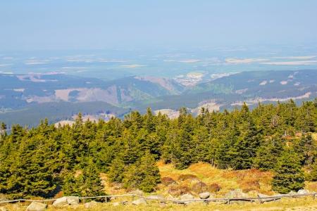 brocken: Brocken mountain in Harz, Saxony-Anhalt, Germany Stock Photo