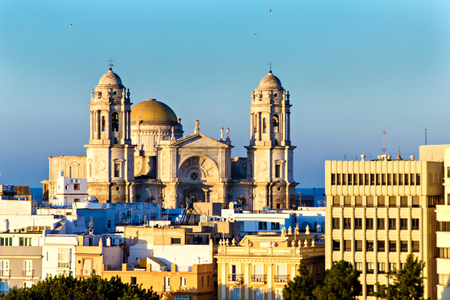 Cathedral of Cadiz, Spain photo
