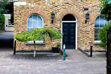 english house: Typical english house, London City Stock Photo