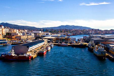 galicia: Port of Vigo, Galicia, Spain
