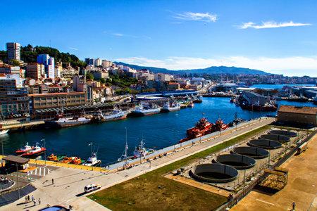 Porto di Vigo, Galizia, Spagna