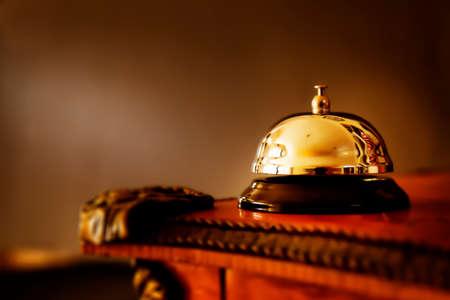 Tischglocke Standard-Bild