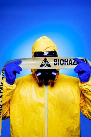 Ebola Outbreak Standard-Bild