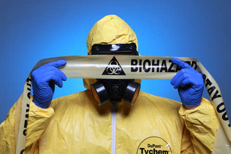 anthrax: Biohazard Stock Photo