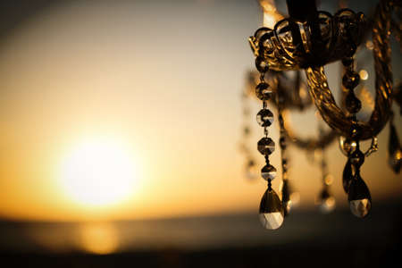 Chandelier Sunset photo