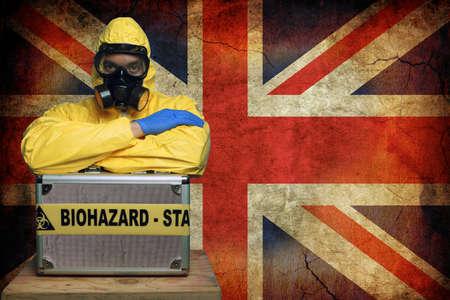 Ebola UK Stock Photo