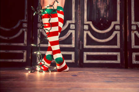 striped: Christmas Socks