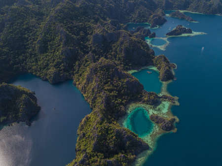 Beautiful islands of the Philippines Фото со стока - 115017329