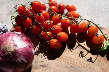 Fresh and healthy mixed vegetables Zdjęcie Seryjne