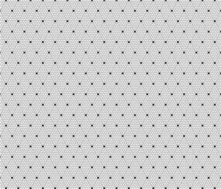 Black dotted veil pattern background. Vector