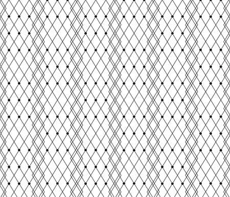 veil: Black dotted veil lace pattern background. Vector