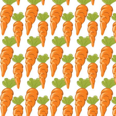 carrots: Carrots pattern.  Illustration
