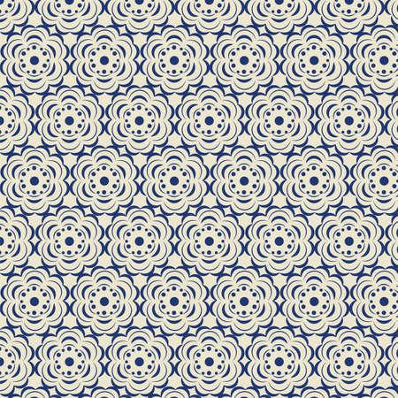 rose: Rose stylized pattern. Vector Illustration