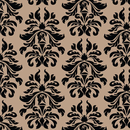 acanthus: Classic style Acanthus ornament pattern background. Vector
