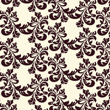 acanthus: Classic style Acanthus ornament pattern. Vector