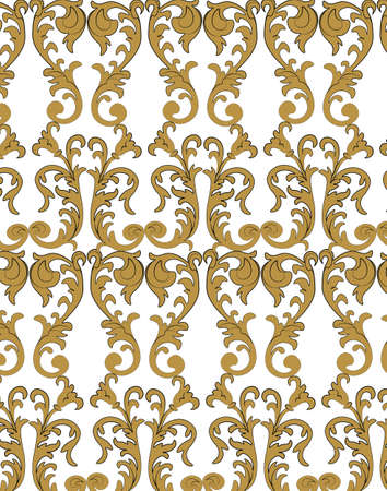 classic style: Classic style Acanthus ornament pattern. Vector
