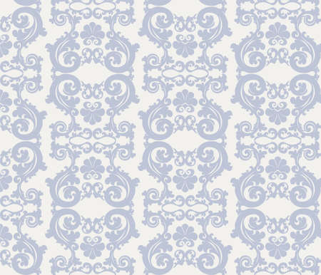 romanesque: Romanesque stylized ornament pattern in blue. Vector