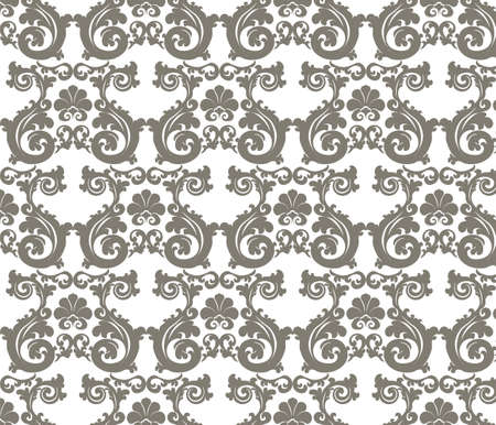 romanesque: Romanesque stylized ornament pattern in beige. Vector