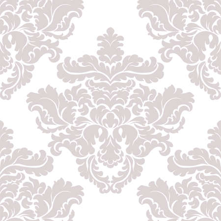 acanthus: Vintage Classic Damask acanthus leaf ornament element. Luxury texture for wallpapers, backgrounds and invitation cards. Taupe colors. Vector