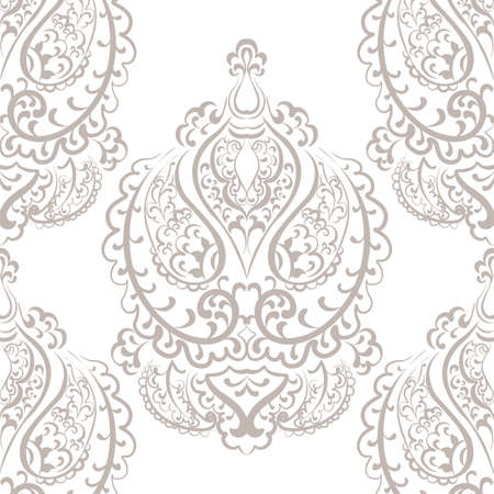 empire: Vector Vintage Empire motif ornament pattern design. Traditional oriental style. Design element for wedding, invitation, cards, backgrounds, fabric, texture etc. Gold color