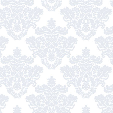 acanthus: Vintage Classic Damask acanthus leaf ornament element. Luxury texture for wallpapers, backgrounds and invitation cards. Serenity blue colors. Vector