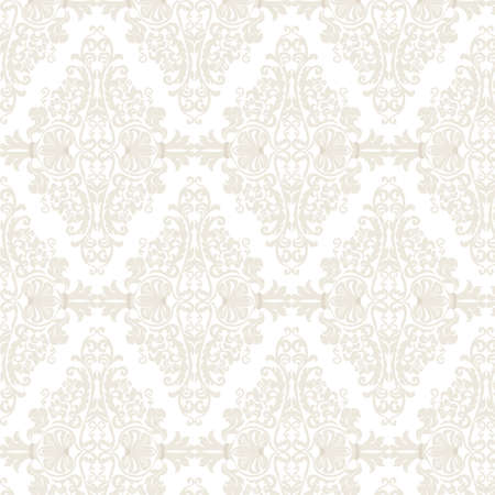 Vector Damask Pattern ornament Imperial style. Ornate floral element for fabric, textile, design, wedding invitations, greeting cards, wallpaper.