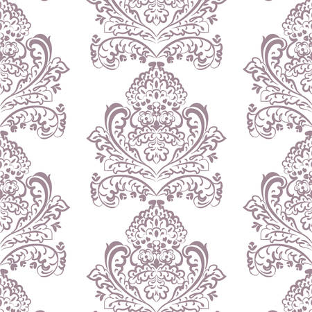 delicate arabic motif: Vector floral lace pattern in Oriental style. Ornamental lace pattern for wedding invitations, greeting cards, wallpaper, backgrounds, fabrics, textile. Traditional decor. Lavender color