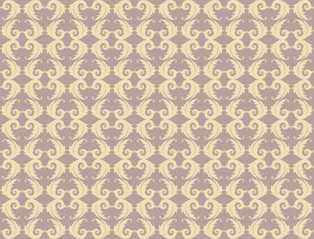 fabric textures: Vintage Abstract geometric floral classic pattern ornament. Vector background for cards, web, fabric, textures, wallpapers, tile, mosaic. Rose quartz and gold color