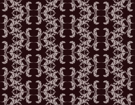 fabric textures: Vintage Abstract geometric floral classic pattern ornament. Vector background for cards, web, fabric, textures, wallpapers, tile, mosaic. purple color