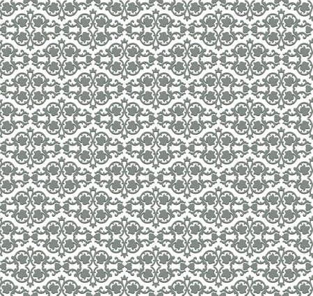 fabric textures: Vintage Abstract floral classic pattern ornament. Vector background for cards, web, fabric, textures, wallpapers, tile, mosaic. Black color