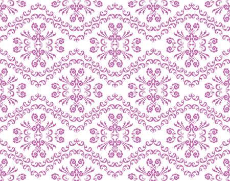 shinning leaves: Abstract Floral ornament pattern background. Vintage pattern Lavender color