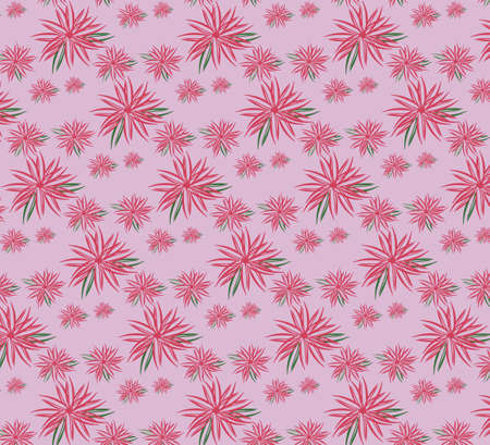 luminary: Spring summer ornament pattern background. Floral blossom fusion season textile, fabric, or wallpaper