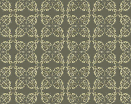 fabric textures: Vintage Damask floral classic pattern ornament. Vector background for cards, web, fabric, textures, wallpapers, tile, mosaic. Cream and vetive color
